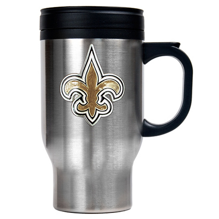 New Orleans Saints Travel Mug Saints Stainless Travel Mug