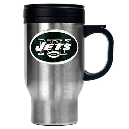 New York Jets 16 oz. Stainless Steel Travel Mug GAP-TM2015-7