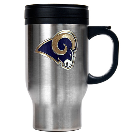 St. Louis Rams 16 oz. Stainless Steel Travel Mug GAP-TM2016-7