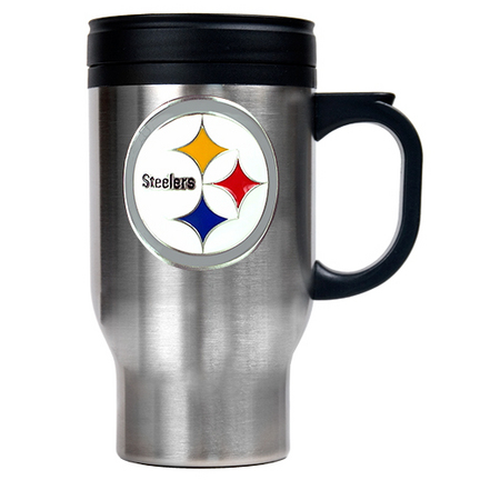 Steelers Travel Mugs Pittsburgh Steelers Travel Mug