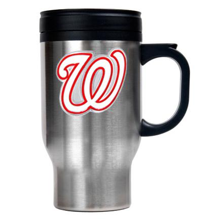 Washington Nationals Stainless Steel Travel Mug