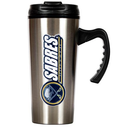 Buffalo Sabres 16 oz. Stainless Steel Travel Mug