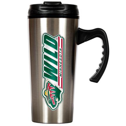 Minnesota Wild 16 oz. Stainless Steel Travel Mug