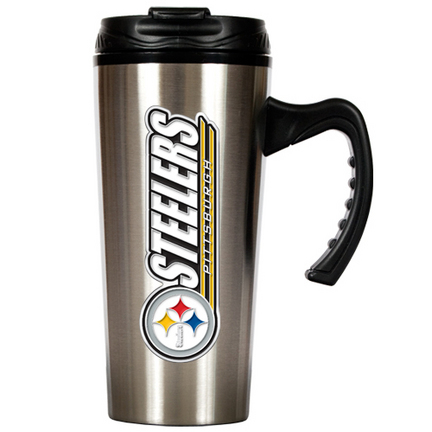 Pittsburgh Steelers New Style 16 oz. Stainless Steel Travel Mug GAP-TMS2017-14