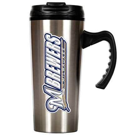Milwaukee Brewers 16 oz. Stainless Steel Travel Mug GAP-TMS2115-14