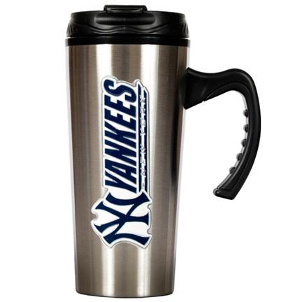 New York Yankees 16 oz. Stainless Steel Travel Mug GAP-TMS2119-14
