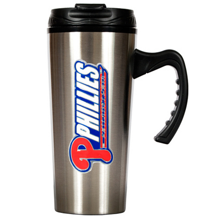 Philadelphia Phillies 16 oz. Stainless Steel Travel Mug GAP-TMS2121-14