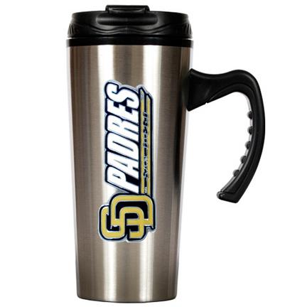 San Diego Padres 16 oz. Stainless Steel Travel Mug GAP-TMS2123-14