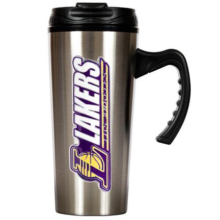 Los Angeles Lakers 16 oz. Stainless Steel Travel Mug GAP-TMS2213-14
