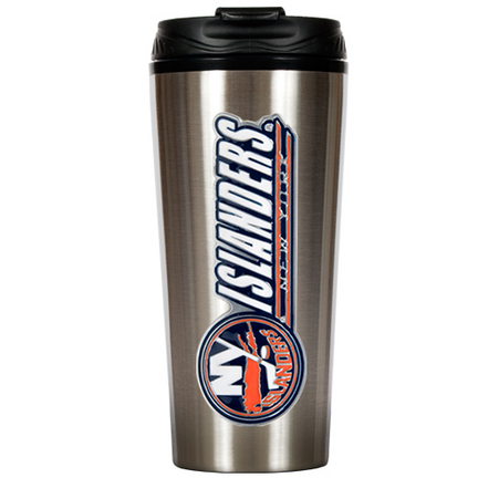 New York Islanders 16 oz. Stainless Steel Travel Tumbler GAP-TTS009-14