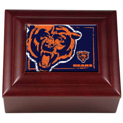 Chicago Bears Wood Keepsake Box GAP-WMBC2000