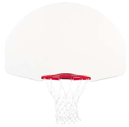 35 x 54 FanShaped Steel Basketball Backboard from Gared 1266