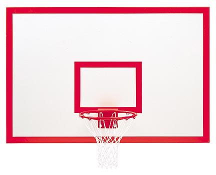 """42"""" x 72"""" Rectangular Steel Basketball Backboard with Markings"""