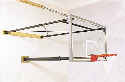 ThreePoint Stationary Wall Mount with Adjustable 2  3 Extension from Gared For Fan Backboards