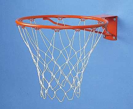 Institutional Basketball Goal with Nylon Net
