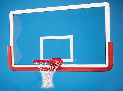 Outer Limit Pro 42 x 72 Rectangular Glass Basketball Backboard WITHOUT Center Strut Reinforcer