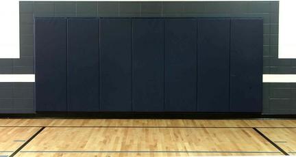 "2' x 6' x 2"" Wall Pad with Neoprene Class A Foam (Standard Size)"