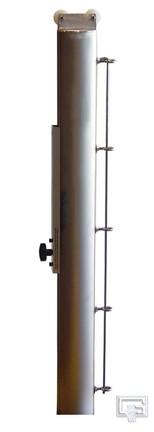 Deluxe Indoor Aluminum Tennis Center Upright Post