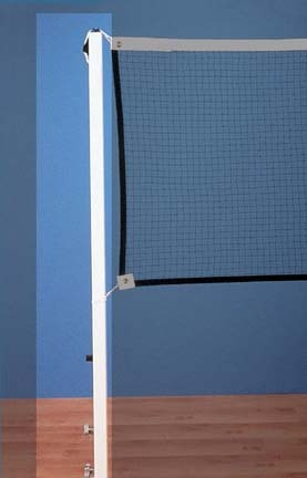 Permanent Sleeve-Type Upright Post for the Permanent Sleeve-Type Badminton 1 Court System from Gared