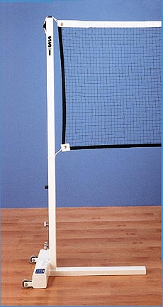 Portable Badminton 1 Court System Two Posts