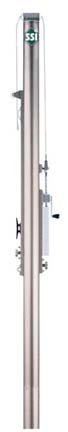 Collegiate Upright Post for the Collegiate Volleyball Court System from Gared - One Upright