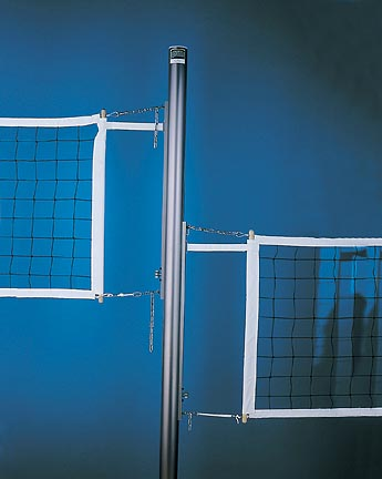 Collegiate Center Upright Post for the Collegiate Volleyball Court System from Gared - One Center Upright