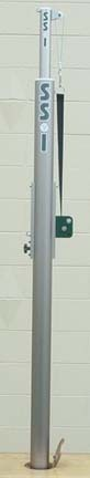 Master Center Upright Post for the Master Telescopic Volleyball Court System from Gared- One Center Upright