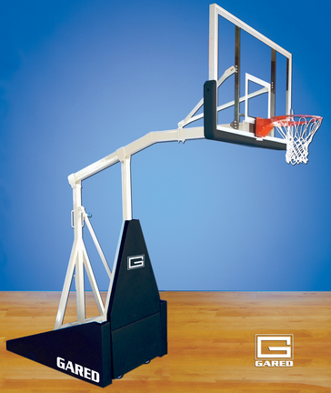Hoopmaster® LT Portable Basketball System with 5' Extension