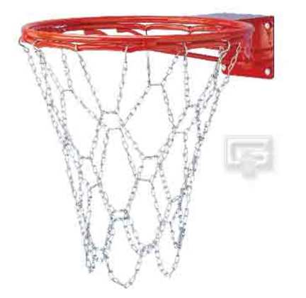 Steel Chain Basketball Net (for use with Single Ring Goals / Rims)