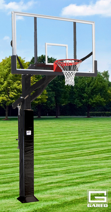 All Pro Jam Adjustable Basketball System with a Acrylic Backboard