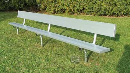 15 Permanent Players Bench