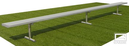 8' Portable Bench without Back