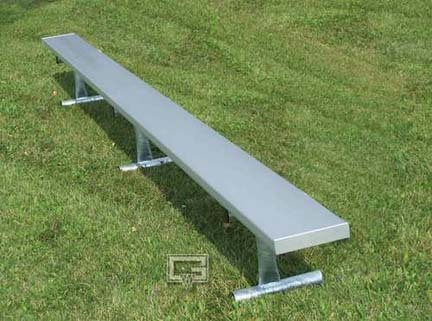15 Portable Aluminum Bench