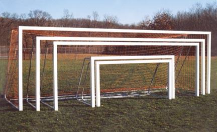 8' x 24' All-Star Recreational Portable Soccer Goals - 1 Pair