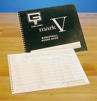 Mark V Basketball Scorebook from Gared  Set of 12 Scorebooks