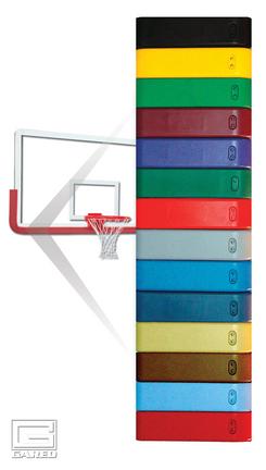 Columbia Blue Pro-Mold® Basketball Backboard Padding