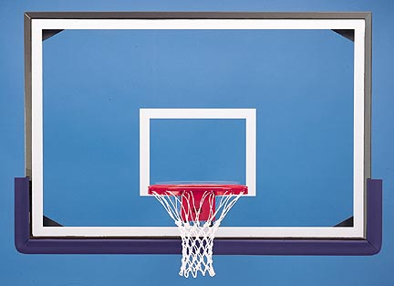 48 x 72 Rectangular Glass Basketball Backboard RG