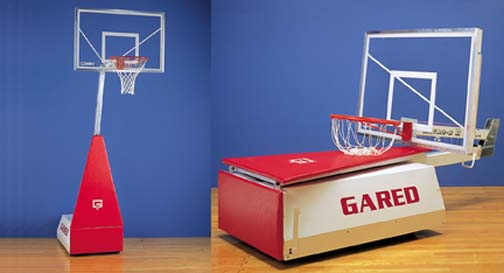 MicroZ II Portable Basketball Unit