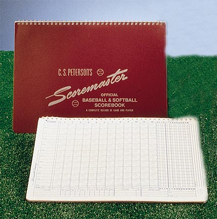 Petersons Baseball Scoremaster Scorebook  Set of 12 Scorebooks