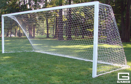8' x 24' Semi-Permanent All-Star I Pro Touchline™ Soccer Goal (One Pair)