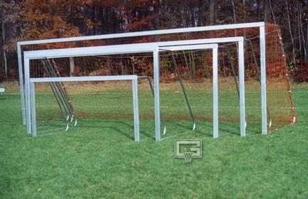 7' x 21' All-Star Recreational Portable Soccer Goals - 1 Pair