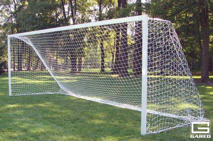 7' x 21', Semi-Permanent All-Star Recreational Touchline™ Soccer Goal (One Pair)