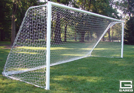 8' x 24', Permanent All-Star II Pro Touchline™ Soccer Goal (One Pair)