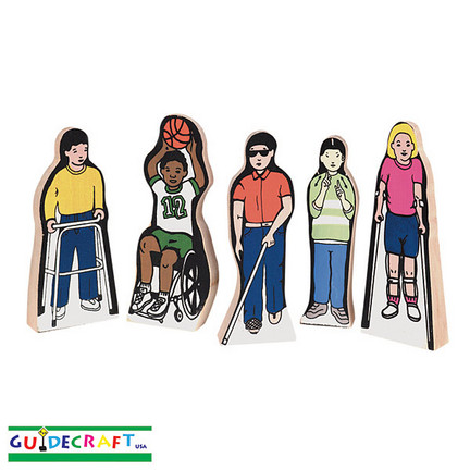 Special Needs Children Figures - Set of 5 GC-G100