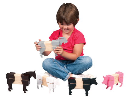 Block Mates™ Farm Animals Set GC-G7601