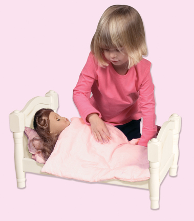 Click here for Doll Bed (White) prices