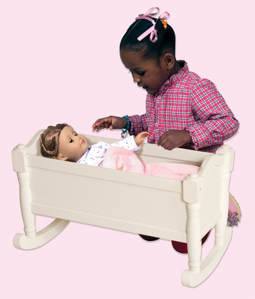 Doll Cradle (White)