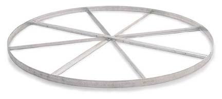 2-Piece, Aluminum Discus Circle with Cross Bracing