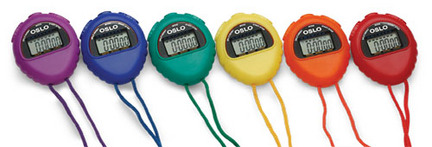 OSLO 427 Volunteers Stopwatches (6-Pack) GIA-37609