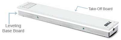 Replacement Leveling Base Board (for College Take Off Board System)